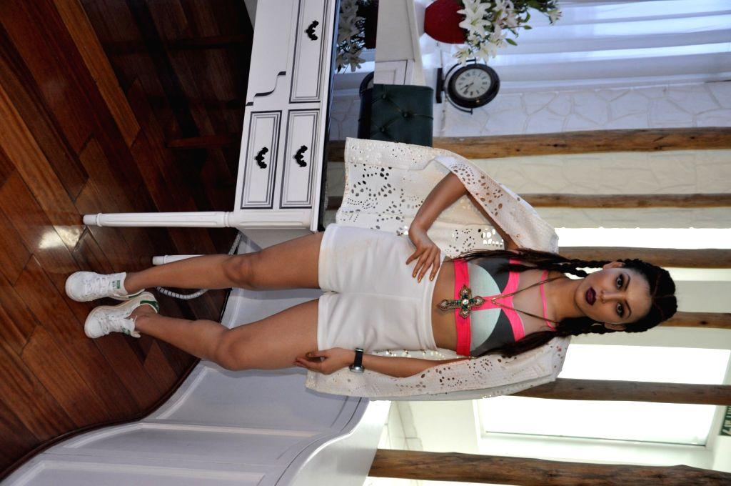 Actress Urvashi Rautela  during the coverpage launch of Exhibit Magazine - Urvashi Rautela