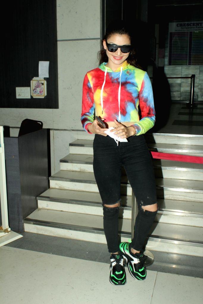 Actress Urvashi Rautela seen at Andheri in Mumbai on Sep 15, 2020. - Urvashi Rautela