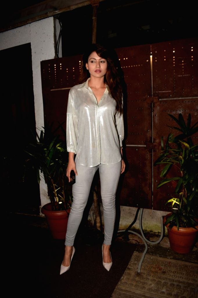 Actress Urvashi Rautela seen at Mumbai's Juhu on July 31, 2018. - Urvashi Rautela