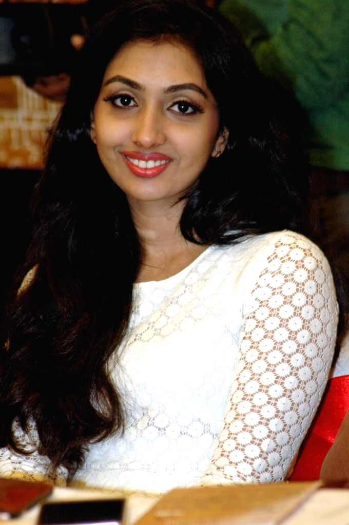 Actress Utthara Unni addresses a press conference in Patna on Nov 14, 2016. - Utthara Unni
