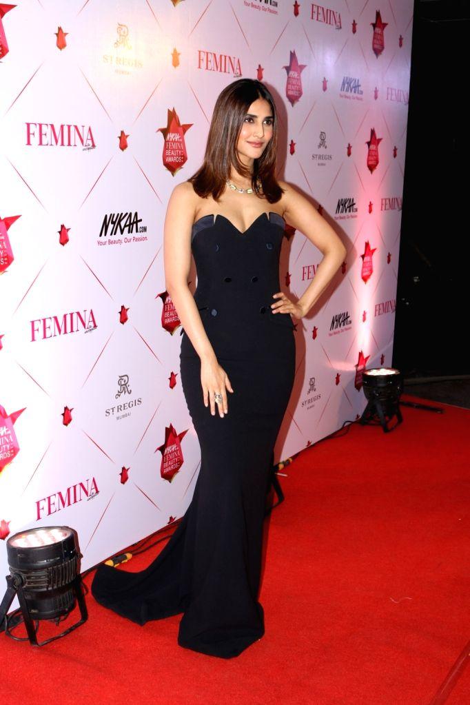 Actress Vaani Kapoor during the 3rd Edition of Nykaa Femina Beauty Awards 2017 in Mumbai on March 15, 2017. - Vaani Kapoor