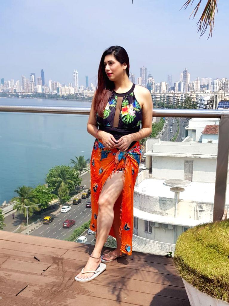 Actress Vahbiz Dorabjee has lost 13 kgs to prepare for her role in a web series. - Vahbiz Dorabjee