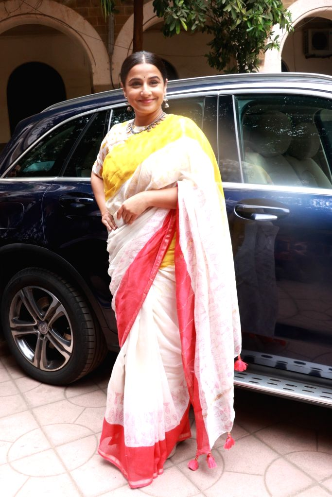 Actress Vidya Balan at Finding Mother Conference at St Xaviers College in Mumbai on Feb 12, 2020. - Vidya Balan