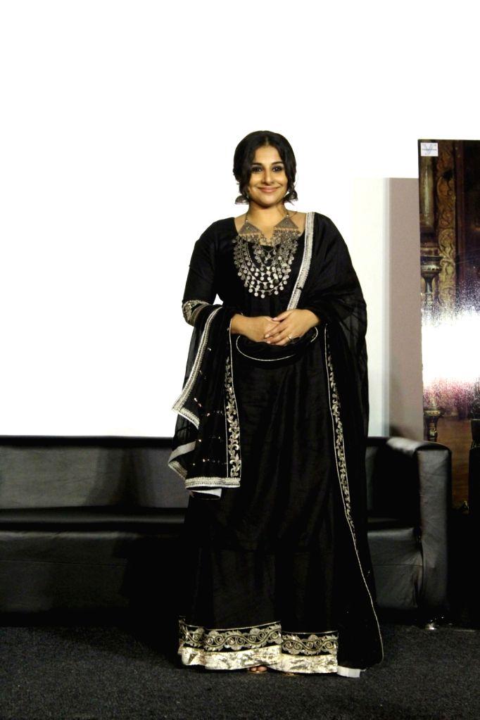 "Actress Vidya Balan during the trailer launch of film ""Begum Jaan"" in Mumbai on March 14, 2017. - Vidya Balan"