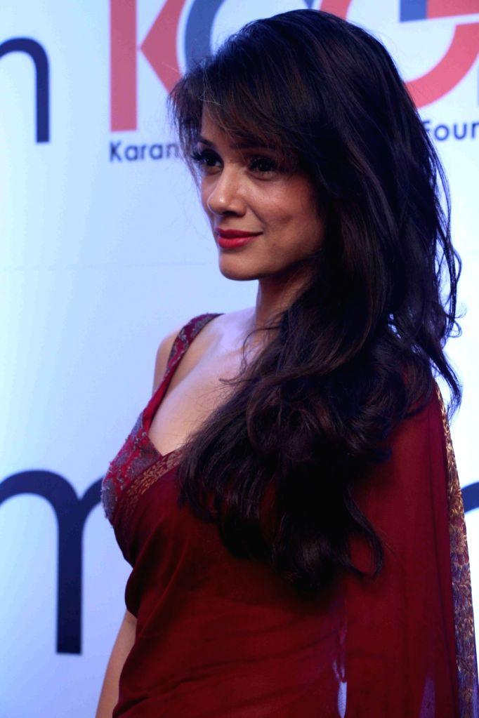 Actress Vidya Malvade during I am Woman event, in Mumbai on April 5, 2016. - Vidya Malvade