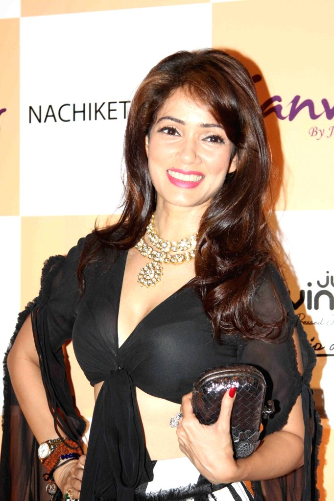 Actress Vidya Malvade during the launch of jewellery brand, Canvas by Jet Gems in Mumbai on Dec 3, 2015. - Vidya Malvade