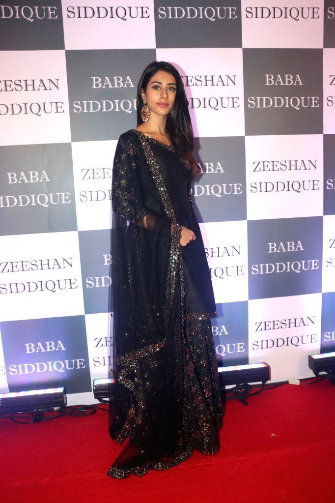 Actress Warina Hussain at Congress leader Baba Siddique's Iftar party in Mumbai, on June 2, 2019. - Warina Hussain