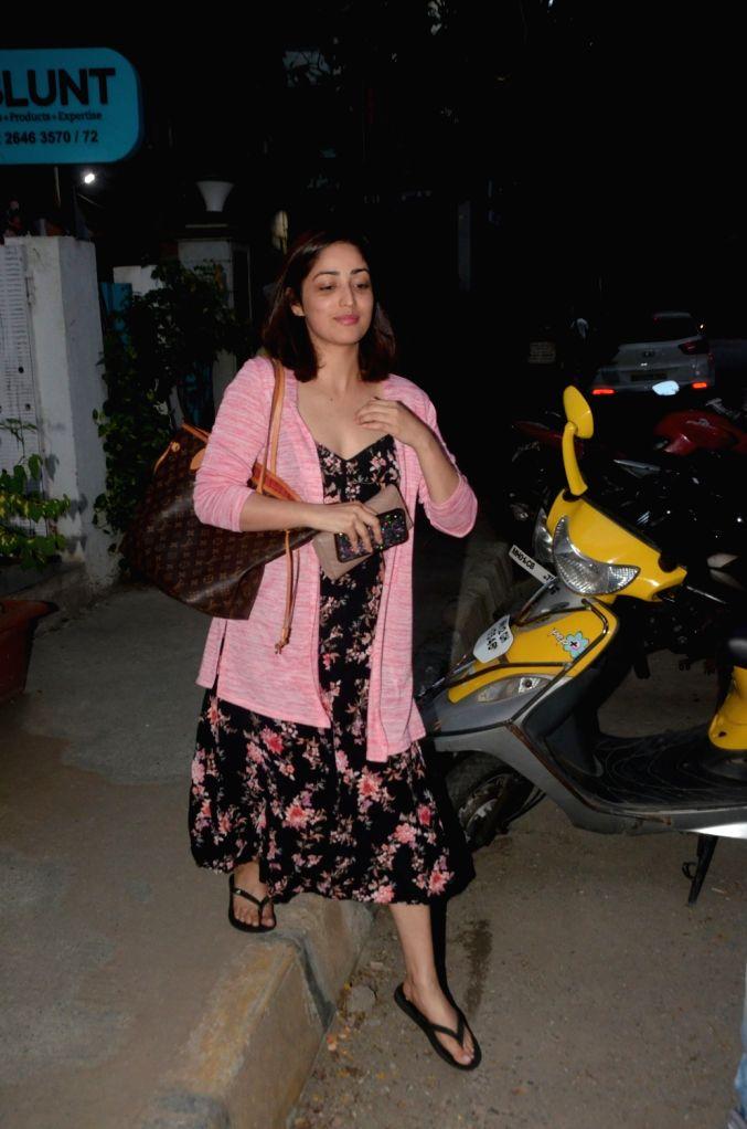 Actress Yami Gautam seen at Bandra in Mumbai, on May 4, 2019. - Yami Gautam