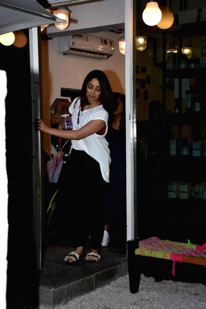 Actress Yami Gautam seen at Mumbai's Bandra, on May 27, 2019. - Yami Gautam