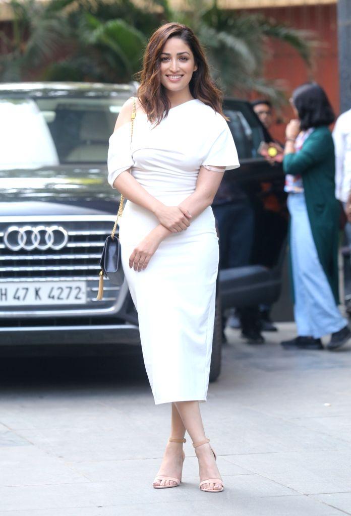 "Actress Yami Gautam who had featured in the critically acclaimed film ""Uri: The Surgical Strike"" seen at Mumbai's Santacruz on Jan 9, 2020. - Yami Gautam"
