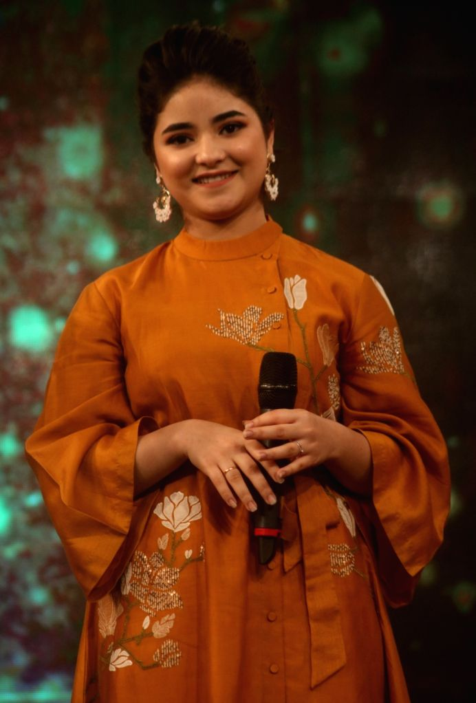 "Actress Zaira Wasim during ""Behtar India award ceremony"" in New Delhi, on Dec 5, 2017. - Zaira Wasim"