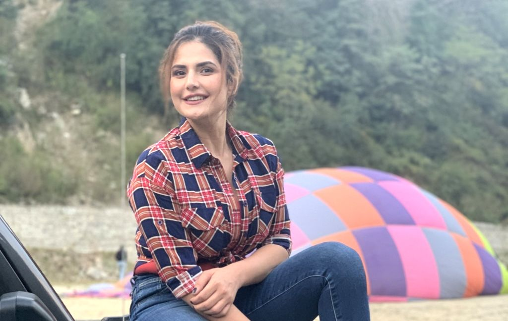 "Actress Zareen Khan will be making her debut on TV with the travel show ""Jeep Bollywood Trails"". - Zareen Khan"