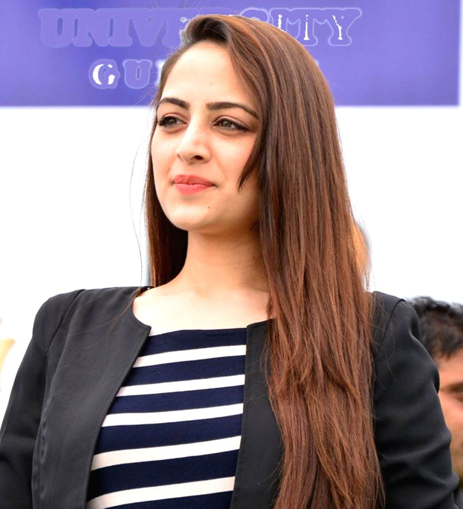 Actress Zoya Afroz during an event organised to promote her upcoming film `The Xpose` in Gurgaon on  May 9, 2014. - Zoya Afroz