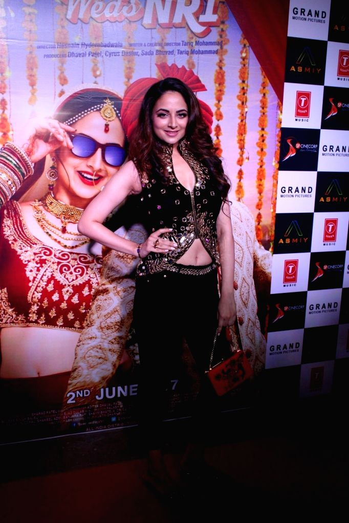 Actress Zoya Afroz during the trailer launch of film Sweetiee Weds NRI in Mumbai on May 5, 2017. - Zoya Afroz
