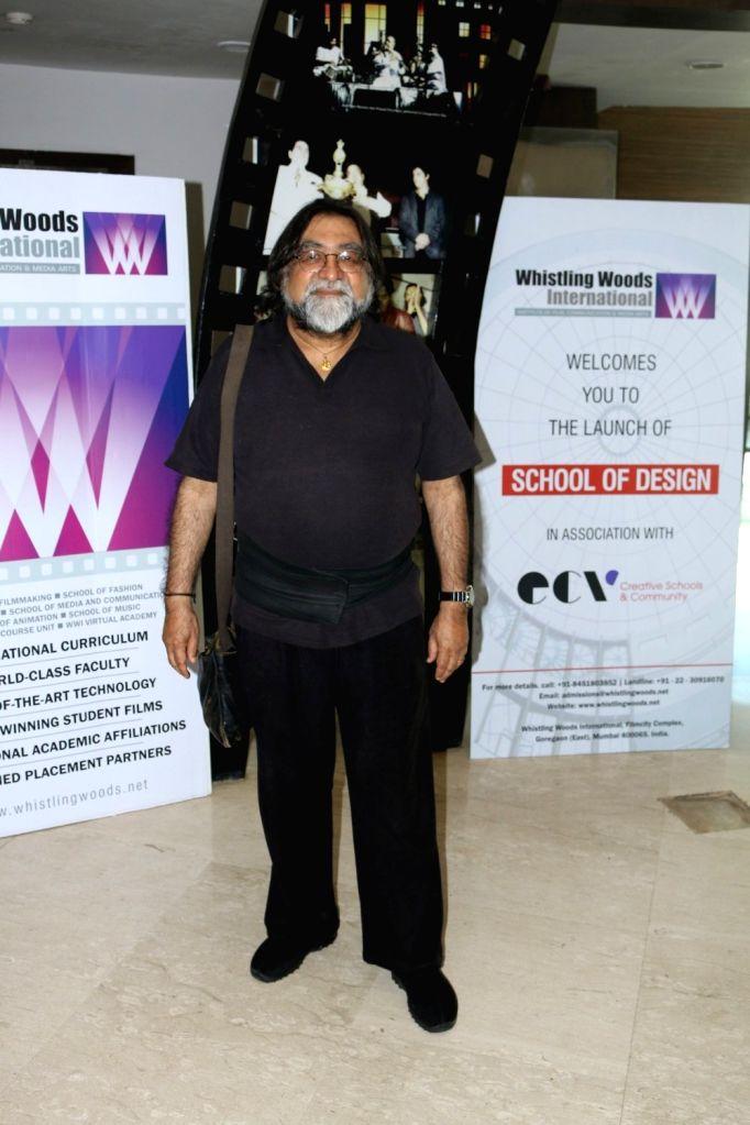 Ad Filmmaker Prahlad Kakkar, during the launch of School of Design in association with Ecole Communication Visuelle (ECV), in Mumbai on Nov 21, 2016. - Prahlad Kakkar