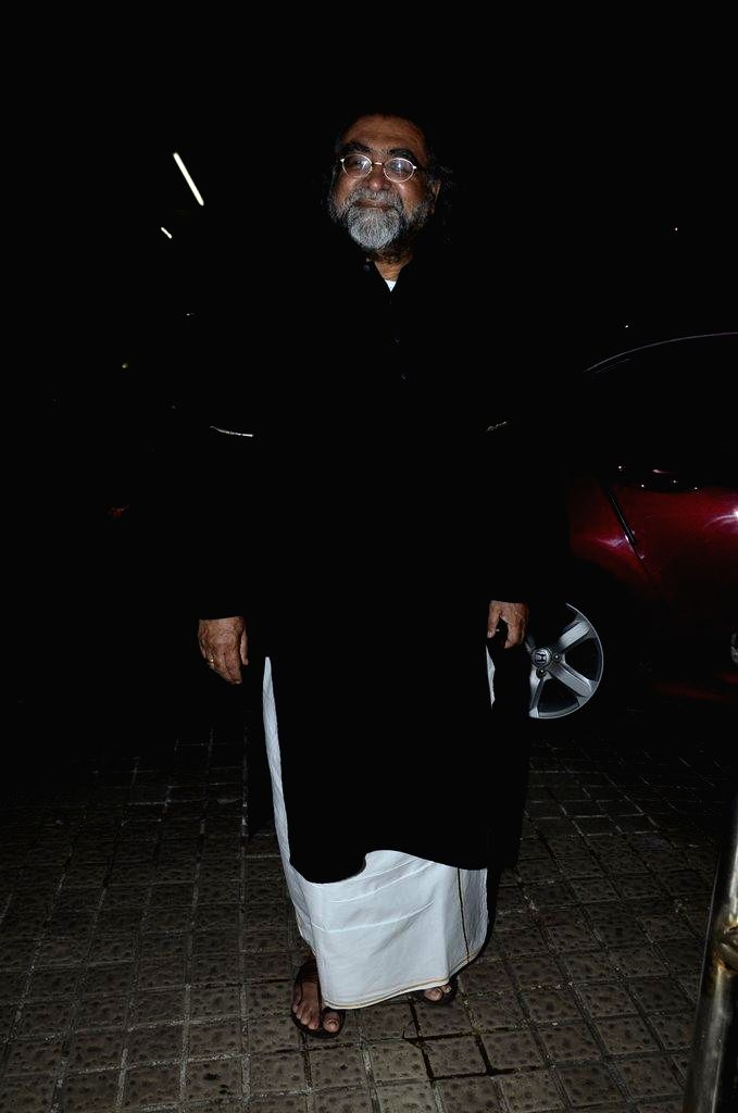 Ad filmmaker Prahlad Kakkar during the special screening of film Finding Fanny in Mumbai on Sept 7, 2014.