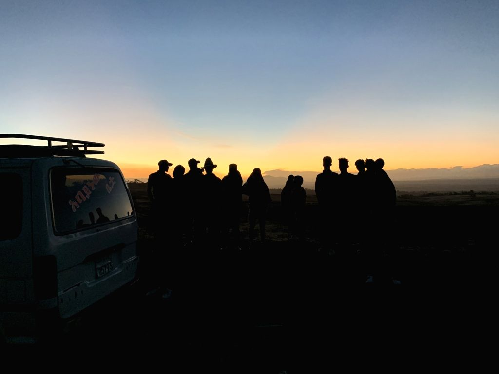 ADDIS ABABA, March 10, 2019 - People gather at the crash site of an Ethiopian Airlines' aircraft, some 50 km east of Addis Ababa, capital of Ethiopia, on March 10, 2019. All 157 people aboard ...