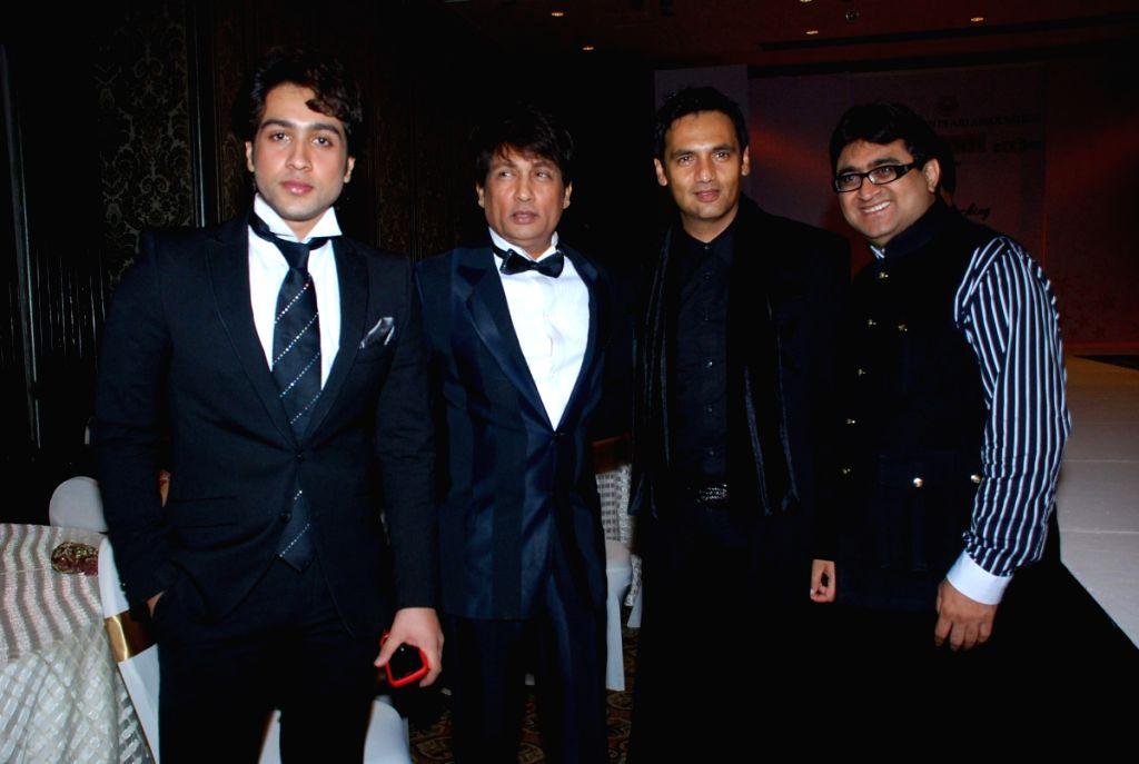 Adhyayan Suman Shekhar And Marc Robinson At CPAA Fashion Show Taj Hotel