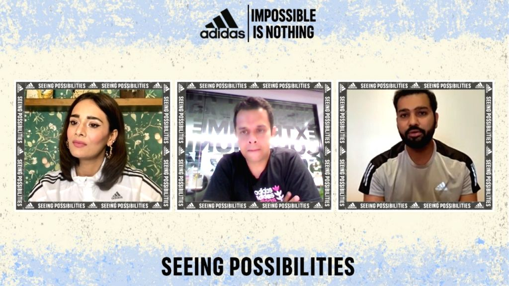Adidas & Rohit Sharma bat for sustainability through 'Impossible is Nothing' campaign - Rohit Sharma