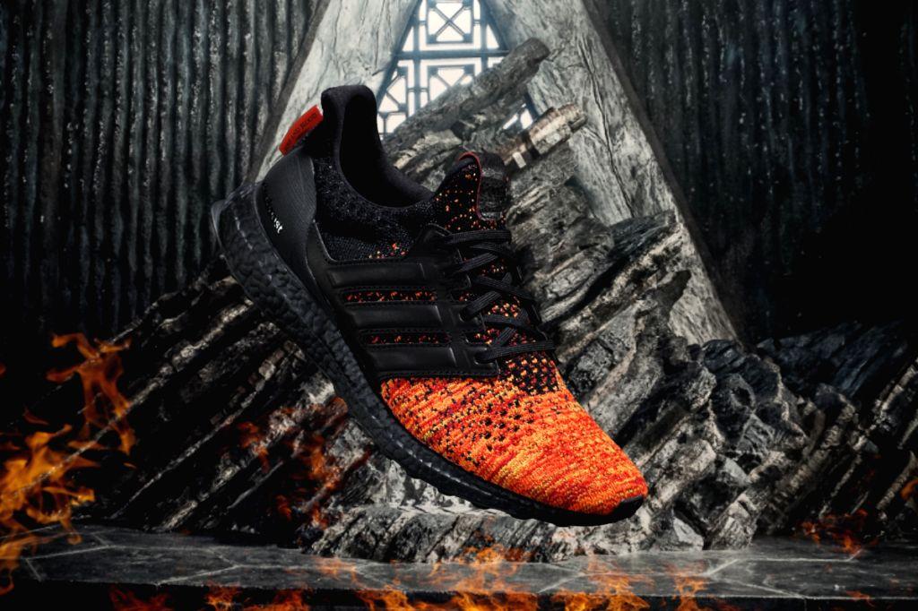 Adidas Running Game of Thrones UltraBoost Targayryen - Men.