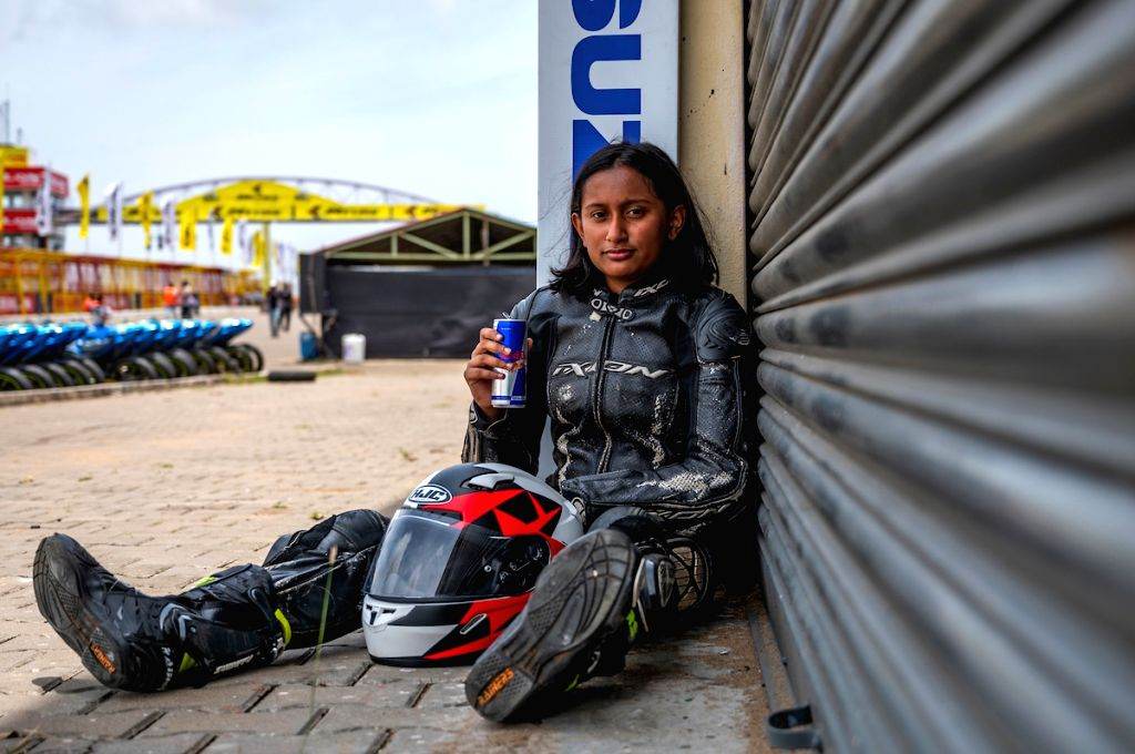 Aditi Krishnan from Bangalore at the Red Bull Road to Rookies Cup.