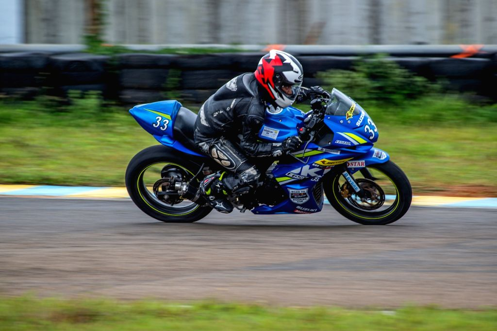Aditi Krishnan from Bangalore in action at the Red Bull Road to Rookies Cup.