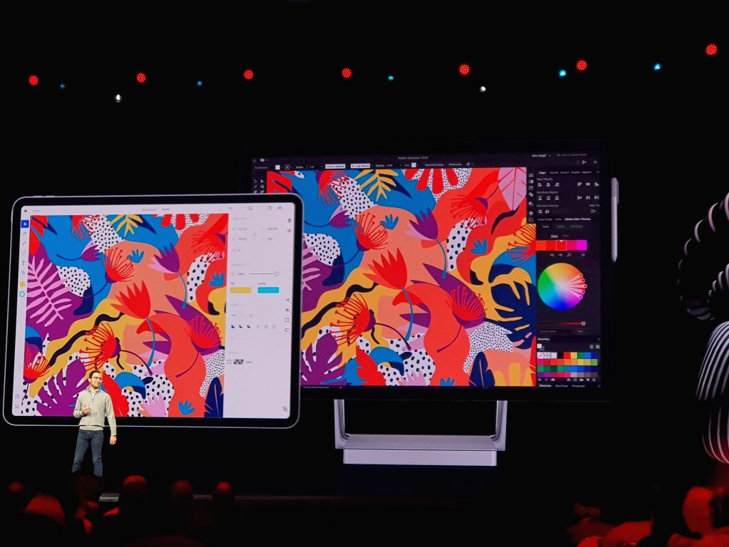 Adobe's Noida team giving final touches to Illustrator on iPad.