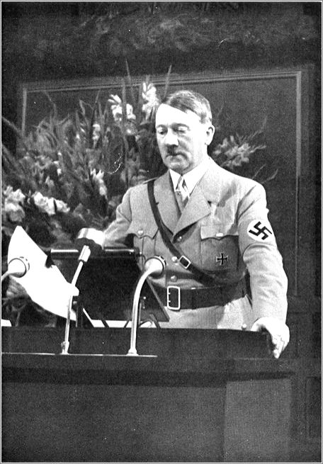 Adolf Hitler - did he only function on the people's support
