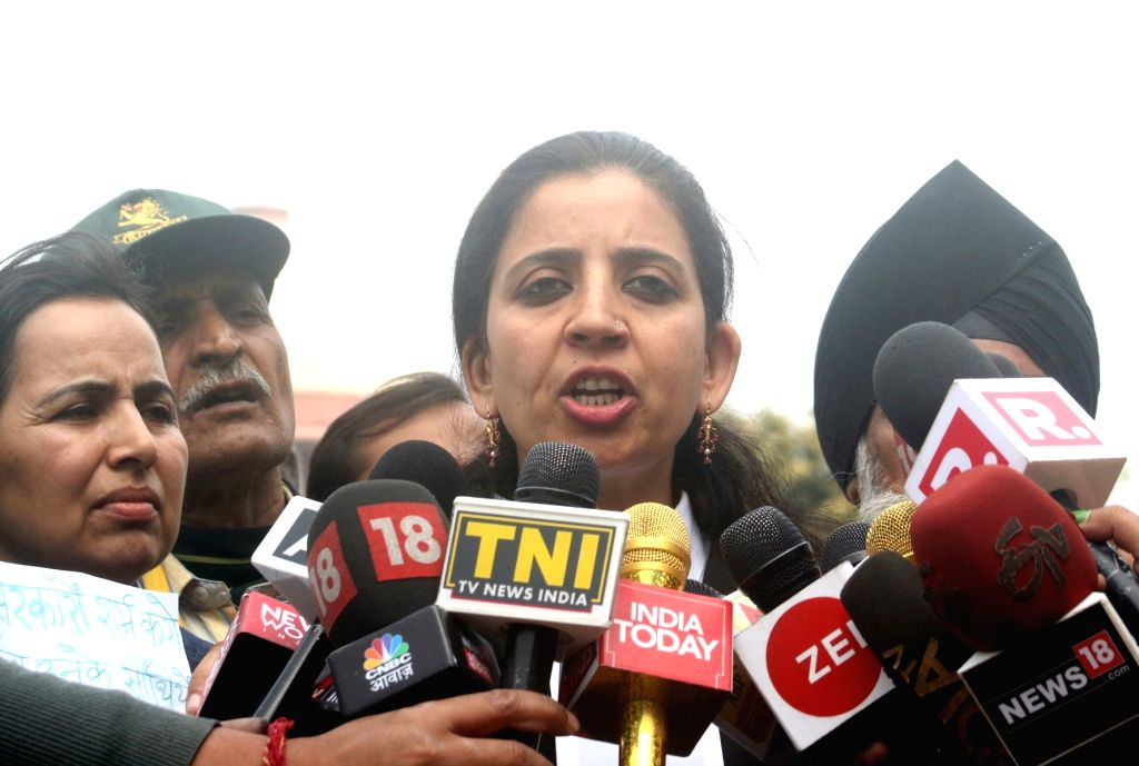 Advocate Aishwarya Bhati, lawyer of Lt Col Karamveer Singh, father of Major Aditya Kumar, named in an FIR by Jammu and Kashmir Police in civilian killings during a firing incident, talks ... - Karamveer Singh and Aditya Kumar