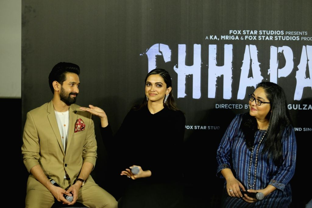 "Advocate Aparna Bhat, who represented acid attack victim Laxmi Agarwal in court, is upset with the Deepika Padukone-starrer ""Chhapaak"" and has threatened to take legal action against the makers of the film. - Deepika Padukone"