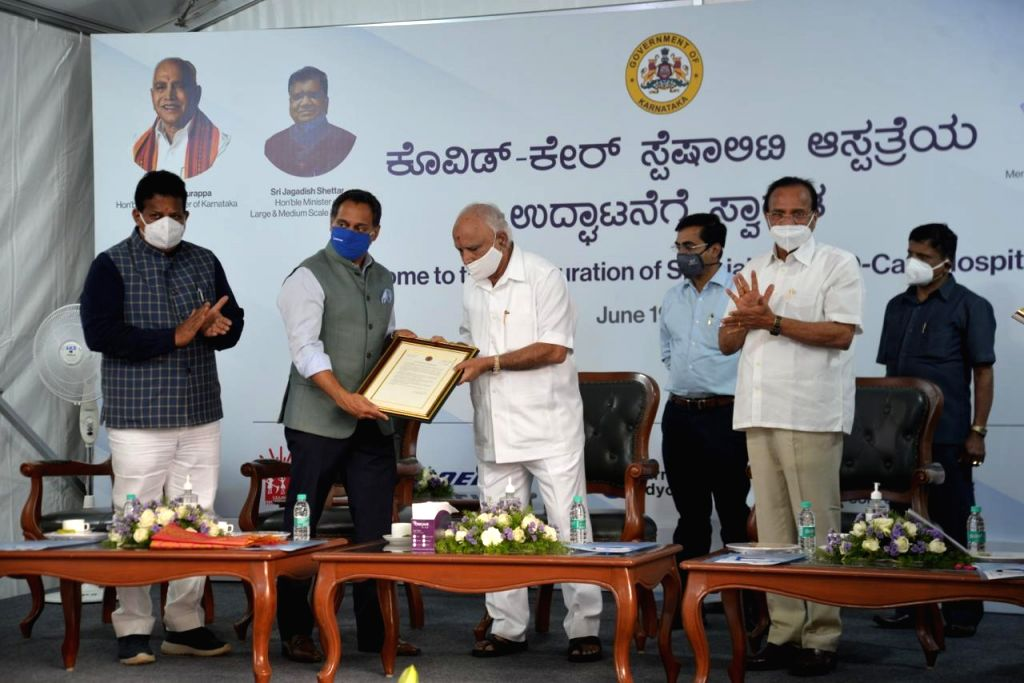 Aerospace major Boeing India along with Doctors for You (DFY) and SELCO Foundation has established a 100-bed hospital here within just 20 days of its commencement, which was inaugurated by Karnataka ... - B