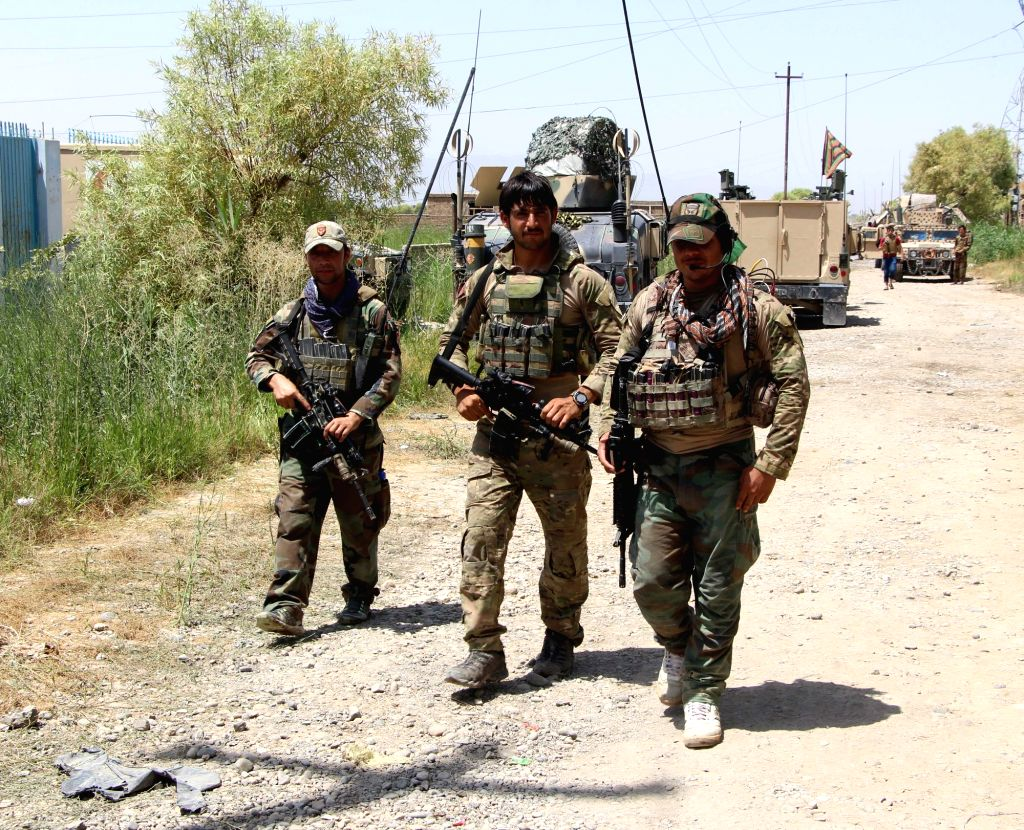 Afghan forces storm Taliban hideout, rescue 8 security personnel