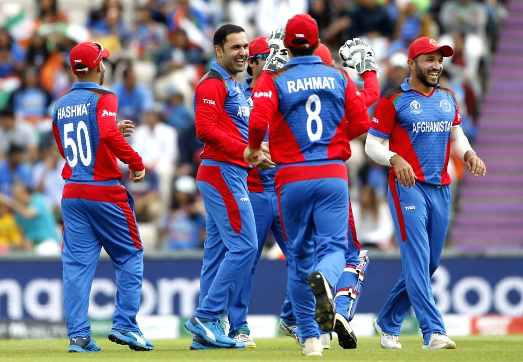 Afghanistan have created a new record for registering the most consecutive wins in T20 Internationals. (Photo: Surjeet Yadav/IANS) - Surjeet Yadav
