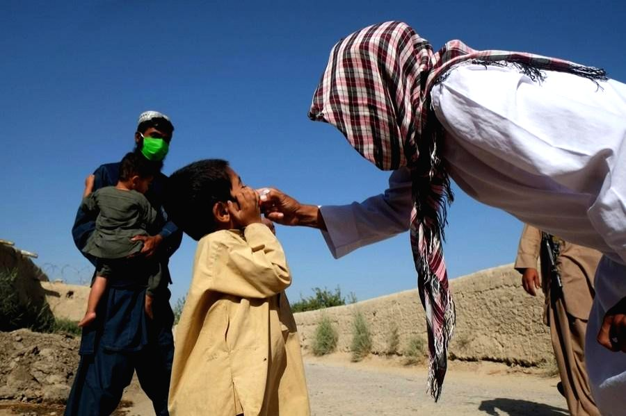 Afghanistan launches polio vaccination targeting 9.9mn kids