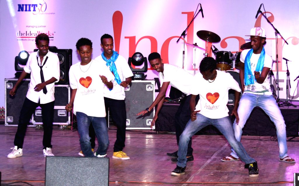 Africa Day celebrations, in New Delhi on Friday 25 May 2012.