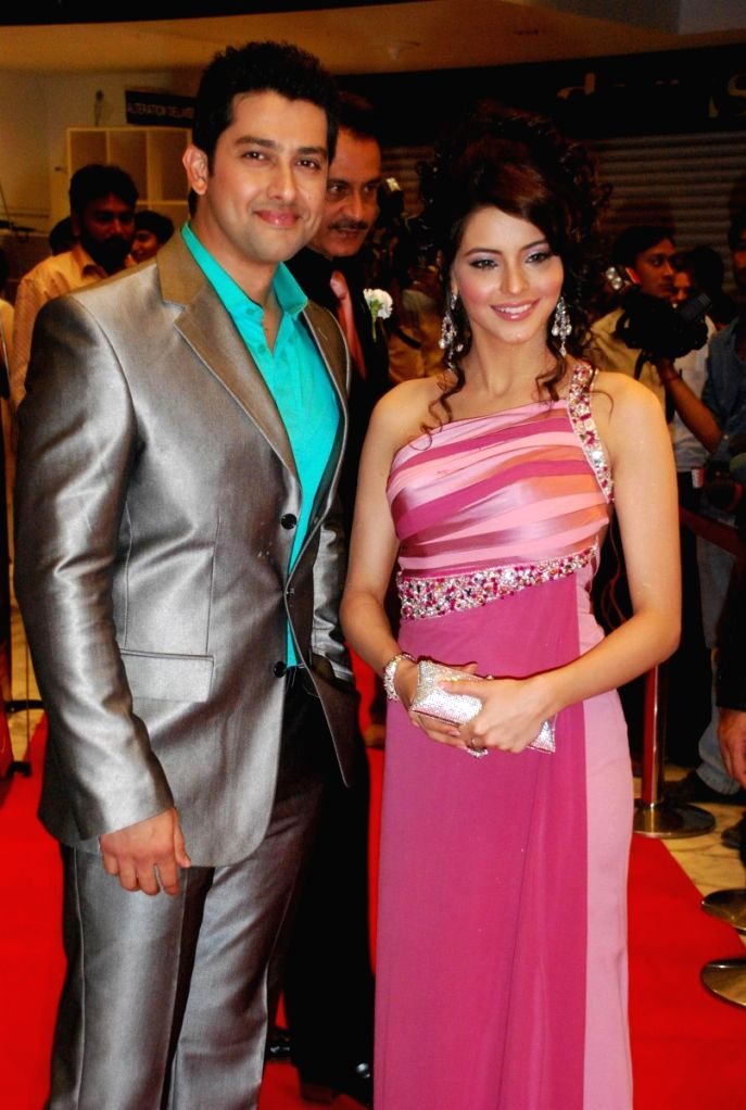 "Aftab Shivdasani and Aamna Shariff at the ""Aloo Chat"" film premiere. - Aftab Shivdasani"