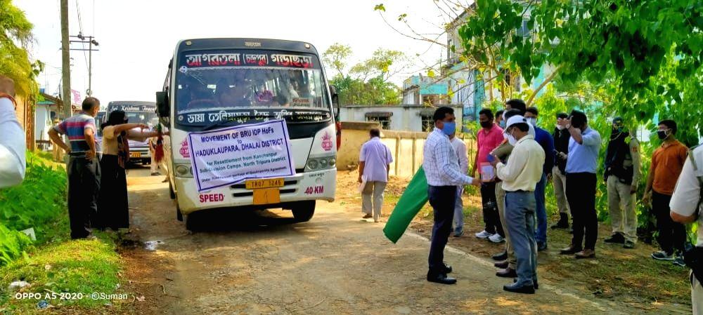 After 24 years, resettlement of Mizoram's tribals in Tripura begins