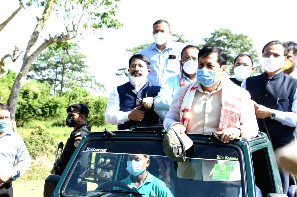 After 7 months, world fame Kaziranga National Park in Assam opens for tourists.
