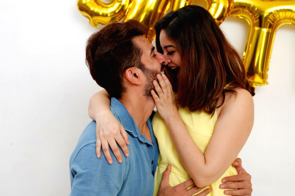 After adopting two of his caretaker's children, actor-host Jay Bhanushali is set to have his first child with wife and actress Mahi Vij. He says it is a fascinating feeling to be a parent again and is actually taking lullaby classes for his little on - Mahi Vij
