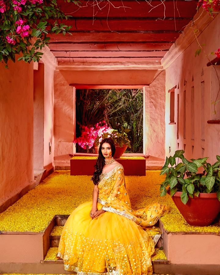 After being in the industry for four years now, Anika Dhawan Gupta, founder of wedding decor Rani Pink and co-founder of label Bageecha Banaras, believes that to get more likes and views on their ... - Anika Dhawan Gupta