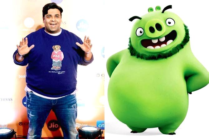 """After comedian Kapil Sharma, actors Archana Puran Singh and Kiku Sharda have been roped in to voice the characters of Zeta and Leonard, respectively, in the Hindi version of """"The Angry Birds ... - Archana Puran Singh, Kiku Sharda and Kapil Sharma"""
