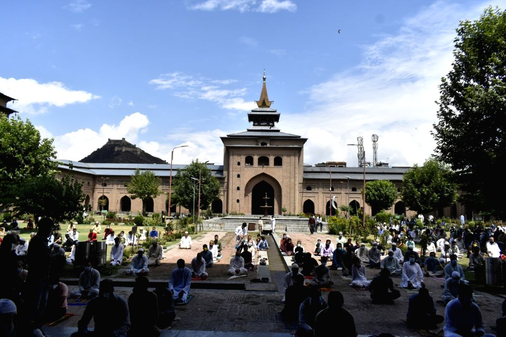 After five months, congregational Friday prayers were again offered at the historic Jamia Masjid in Srinagar on Aug 21, 2020. The mosque in Nowhatta area was closed in the middle of March ...