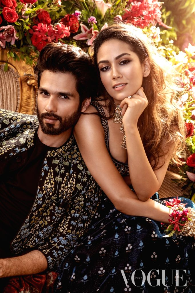 After giving a glimpse of their chemistry on social media, star couple Shahid Kapoor and Mira Rajput are adding a touch of glamour in the world of fashion. With the Vogue Wedding Show returning with ... - Shahid Kapoor