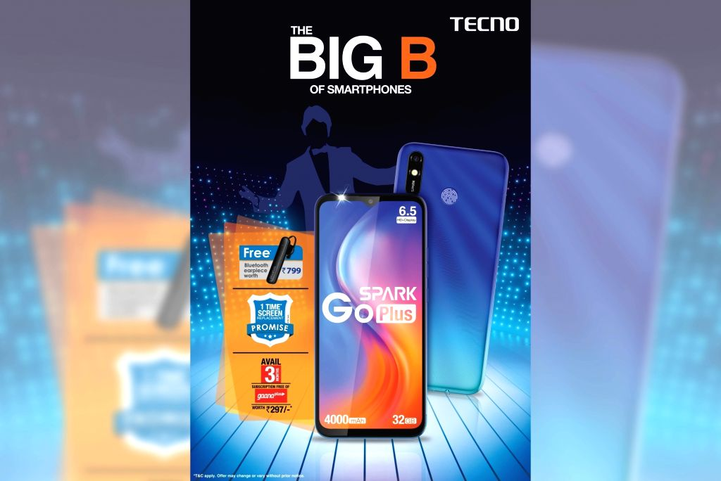 After launching 'Spark Go' smartphone in 2019, TECNO, the global smartphone brand of Transsion India, on Thursday launched its new budget smartphone 'Spark Go Plus' for Rs 6,299.