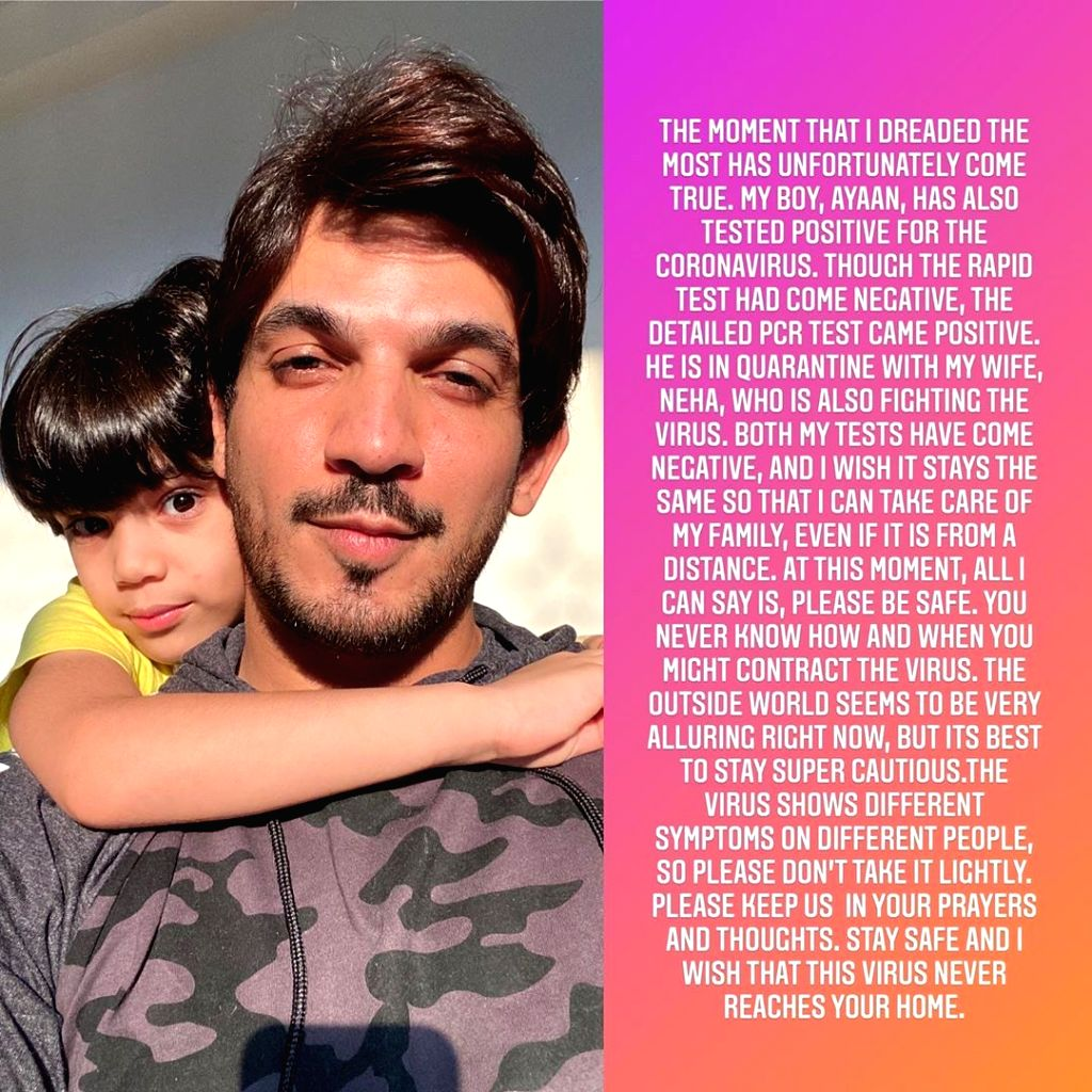 After wife, Ajrun Bijlani's son tests Covid positive
