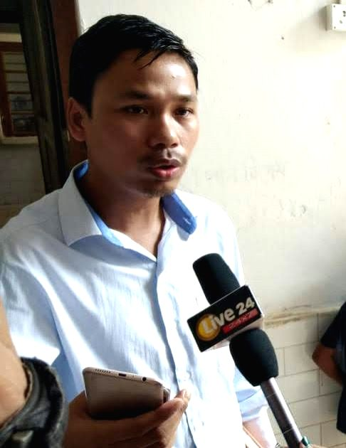 Agartala: IPFT (Indigenous People's Front of Tripura) MLA Dhananjoy Tripura, who is being probed by the Tripura Police on a tribal girl's complaint of sexual harassment against him. The 31-year-old IPFT MLA had on Wednesday told the media that two da