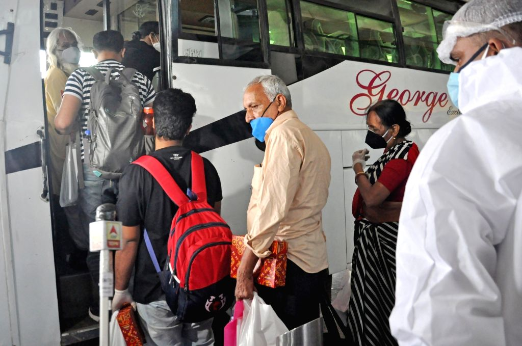 Agartala/ Karimganj (Assam), June 19 (IANS) A total of 245 Indians, who were stranded in Bangladesh for more than three months, returned to the country by road and were admitted to institutional quarantine centres, officials said on Friday.