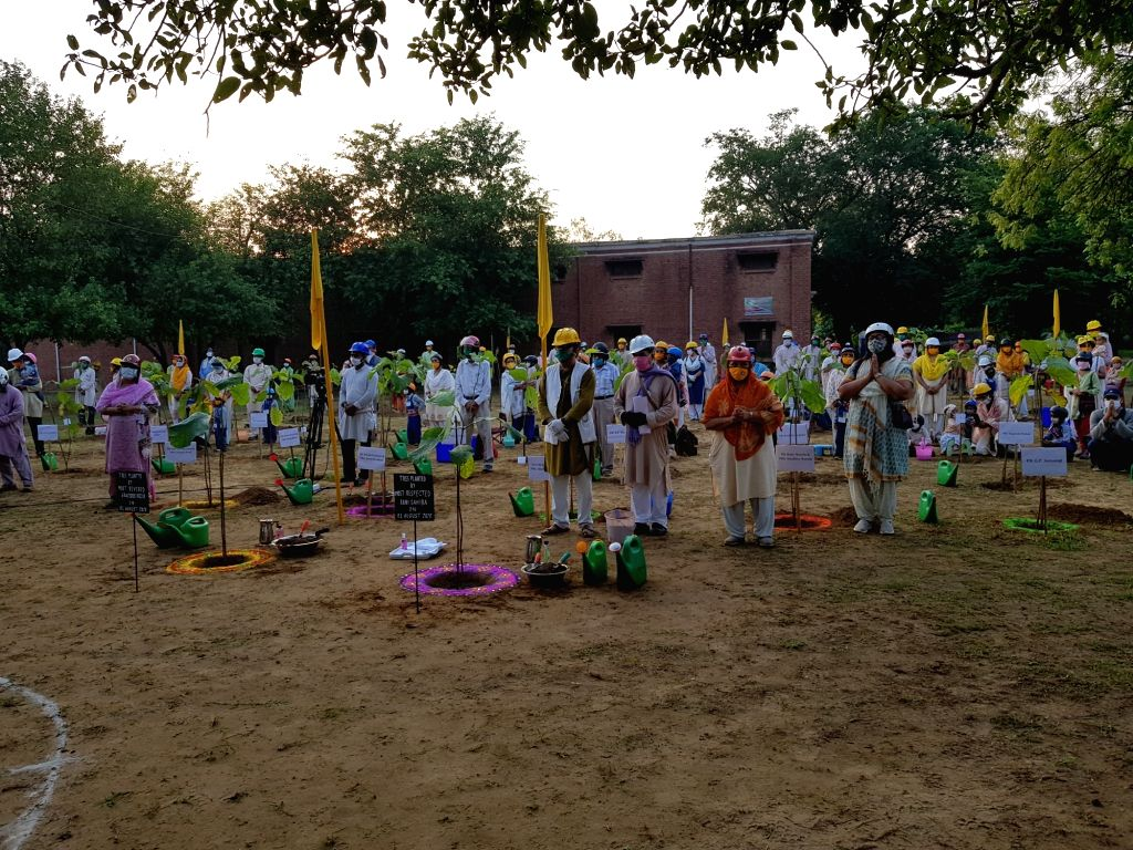 Agra NGO plants saplings in 75 cities across four continents