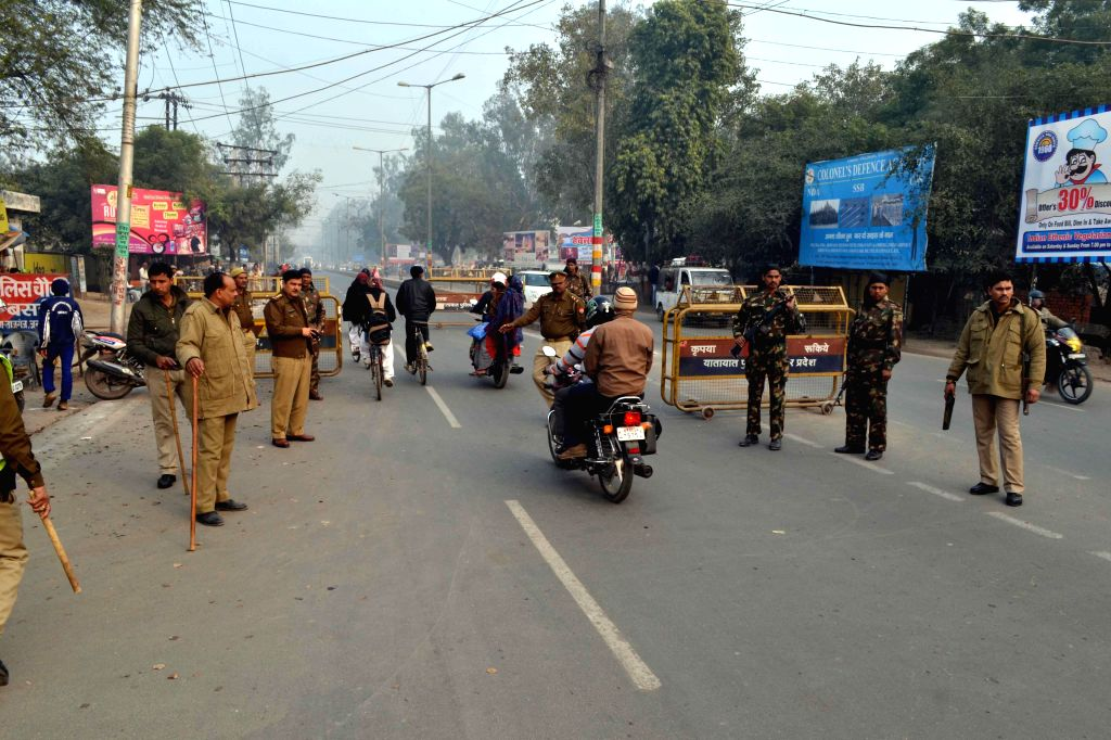 Security beefed up ahead of US President Barack Obama's visit in Agra on Jan. 17, 2015.