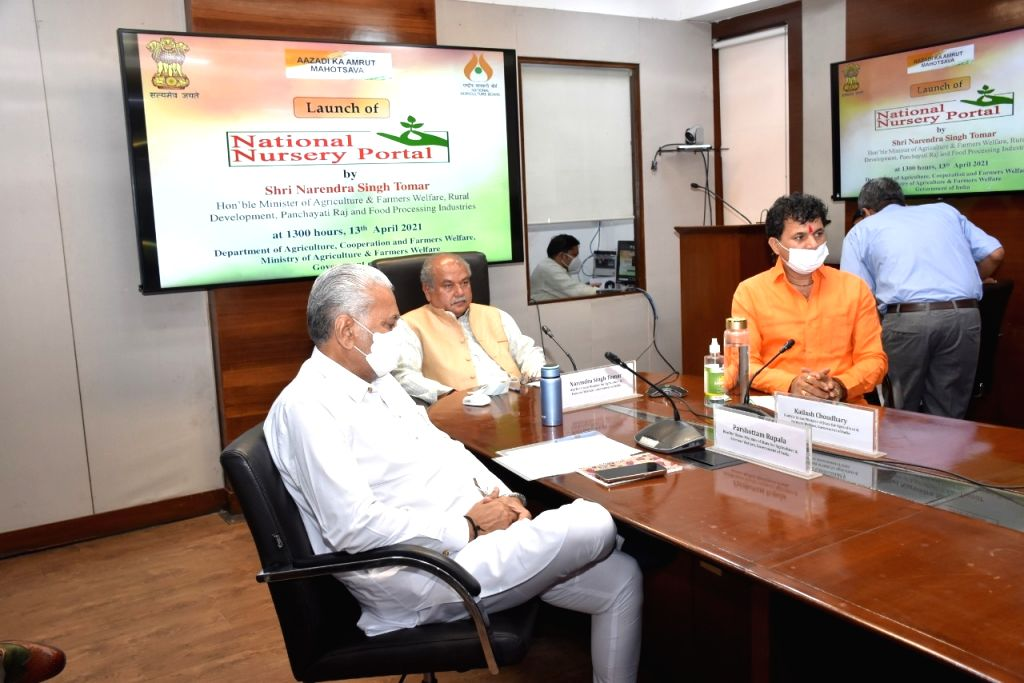 Agri Minister launches portal for nursery